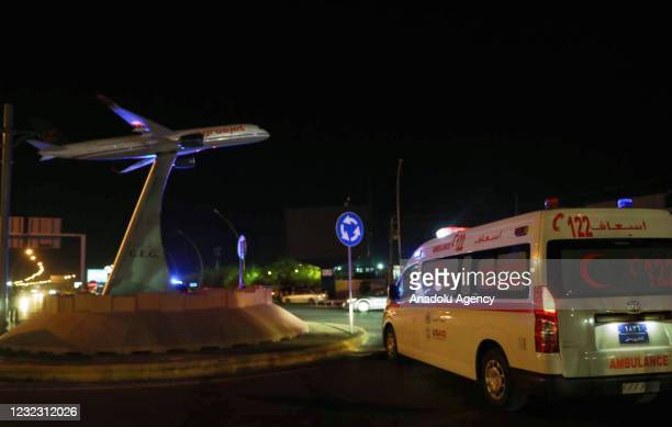 Ambulances are being sent to the site after the Erbil International Airport in northern Iraq was targeted by a missile, the Iraqi Kurdish Regional...