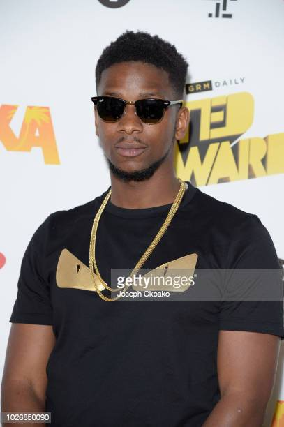 Ambush attends UK Grime and Hip Hop event, the KA & GRM Daily RATED AWARDS 2018, at Eventim Apollo on September 4, 2018 in London, England.