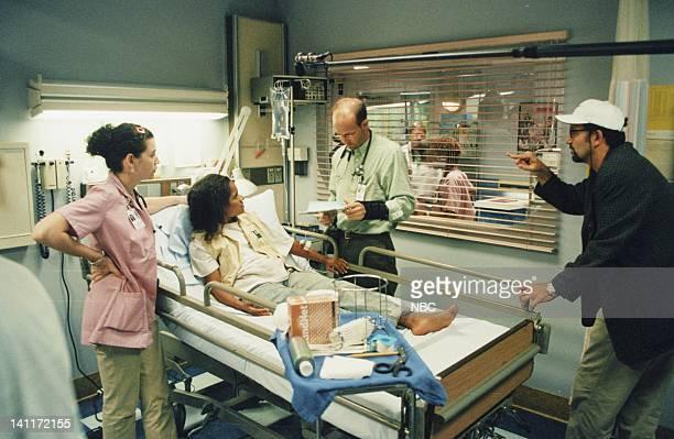 ER 'Ambush' Episode 1 Air Date Pictured Julianna Margulies as Nurse Carol Hathaway unknown Anthony Edwards as Doctor Mark Greene Thomas Schlamme...