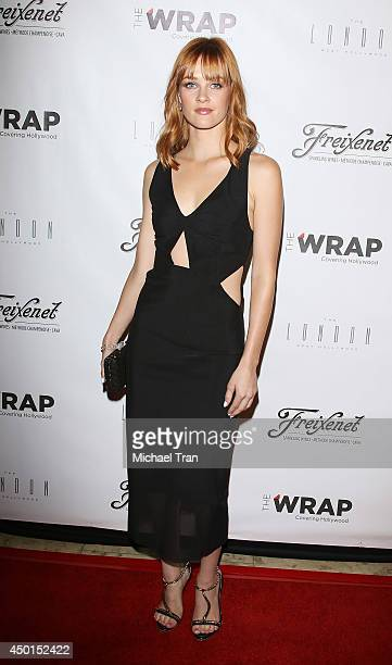 Ambyr Childers arrives at TheWrap's First Annual Emmy Party held at The London West Hollywood on June 5 2014 in West Hollywood California