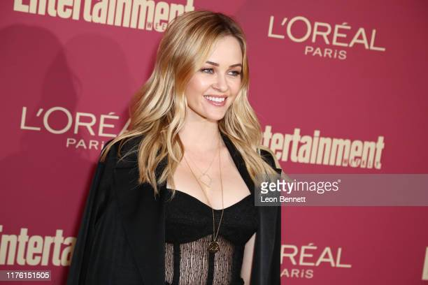 Ambyr Childers attends 2019 Entertainment Weekly PreEmmy Party at Sunset Tower on September 20 2019 in Los Angeles California