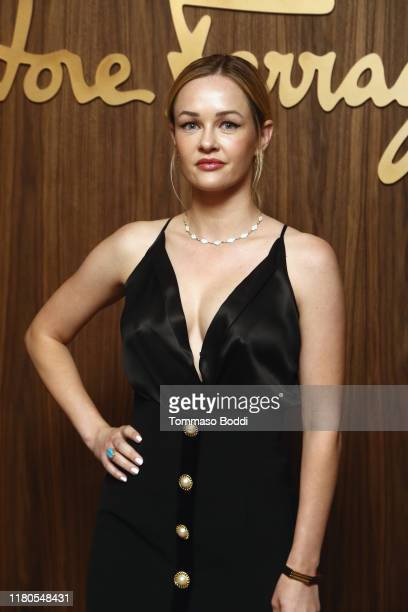 Ambyr Childers attends the ELLE x Ferragamo Hollywood Rising Party at Sunset Tower on October 11 2019 in Los Angeles California
