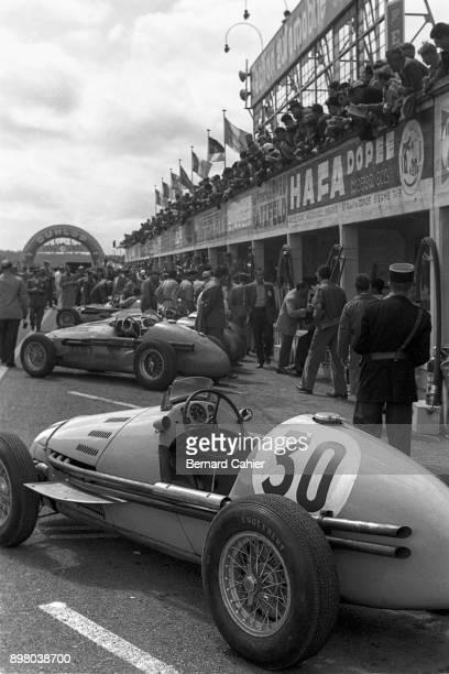 Amédée Gordini Gordini T16 Grand Prix of France ReimsGueux 04 July 1954