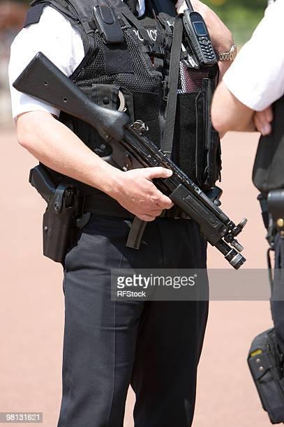 Amed Police Officer