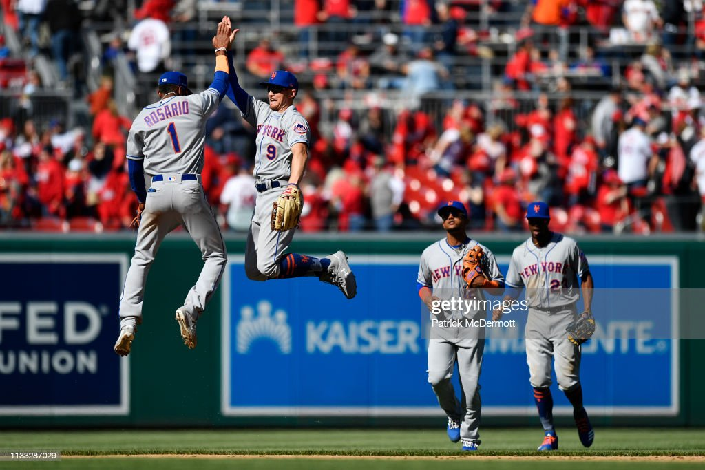 New York Mets v Washington Nationals : News Photo