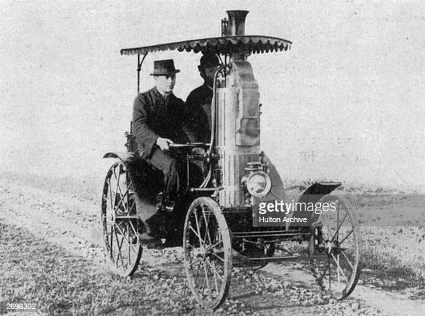 Amedee Bollee Junior's light twoseater steamer built in 1885 The Bollee family were bell founders in Le Mans who began to built steam carriages in...