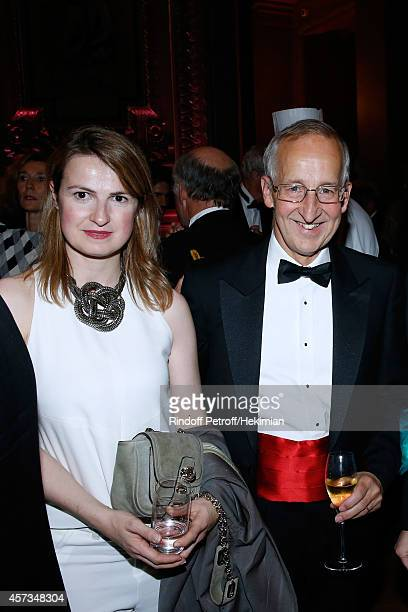 Amedee de Clermont Tonnerre and Ambassador of England Sir Peter Ricketts attend the AROP Charity Gala with Opera L'enlevement au Serail from Mozart...