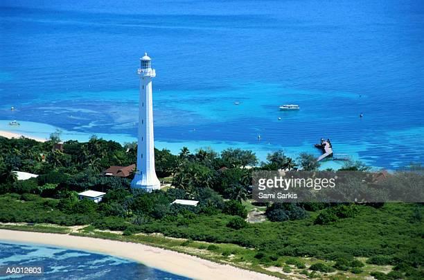 Amedee Lighthouse and Amedee Island