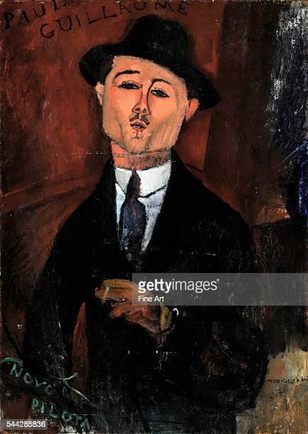 Amedeo Modigliani Paul Guillaume Novo Pilota oil on cardboard 105 x 75 cm Musée de l'Orangerie Paris