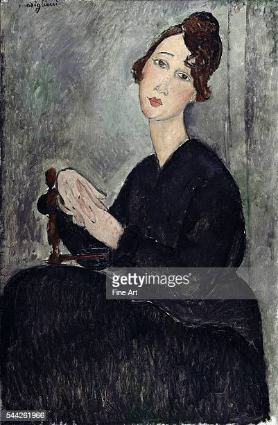 Amedeo Modigliani Portrait of Dedie 92 x 60 cm oil on canvas Musée National d'Art Moderne Centre Georges Pompidou Paris