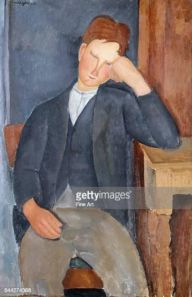Amedeo Modigliani The Young Apprentice 191819 oil on canvas 100 x 65 cm Musée de l'Orangerie Paris