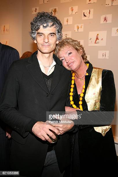 Amedeo Pace and AnneLaure Lyon attend JANE GANG 'Cash Only' jewelry launch hosted by Josh Briggs at May 20 on May 20 2008