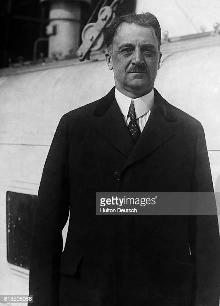 Amedeo Peter Giannini, the American banker.