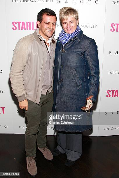 Amedeo Scognamiglio and Princess Gloria von Thurn und Taxis attend The Cinema Society and Sandro screening of Starlet at The Lambs Club on November 2...