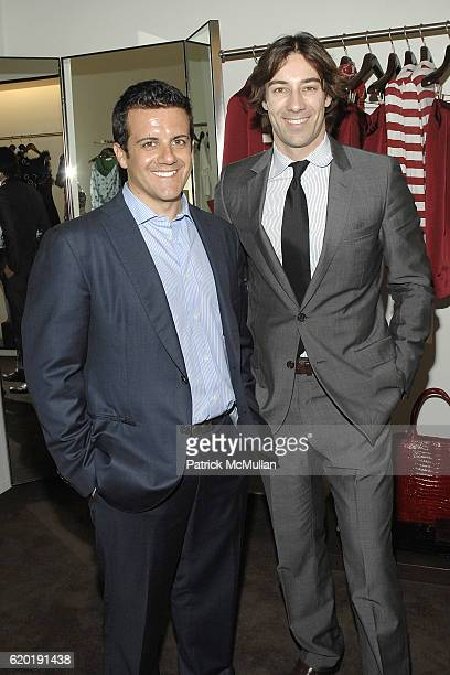 Amedeo Scognamiglio and Roberto Faraone Mennella attend CAROLINA HERRERA New York Preview Of The Jewelry Collection Designed for Carolina Herrera at...