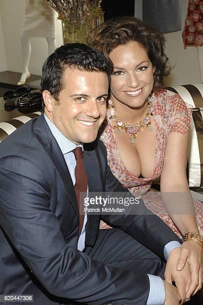 Amedeo Scognamiglio and Tia Hoberman attend CAROLINA HERRERA New York Preview Of The Jewelry Collection Designed for Carolina Herrera at Carolina...