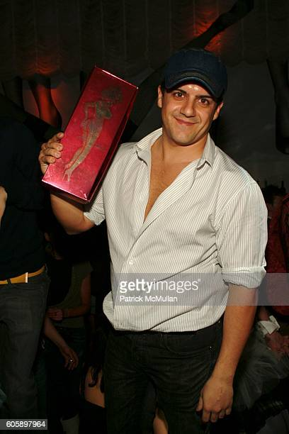 Amedeo Scognamiglio attends AMANDA LEPORE DOLL After Party at Happy Valley on April 11 2006 in New York City