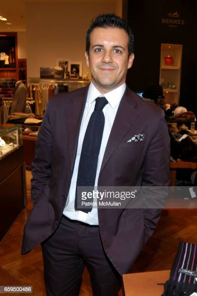Amedeo Scognamiglio attends FARAONE MENNELLA at Richards of Greenwich for DebRA Bracelet Unveiling at Richards on October 17 2009 in Greenwich...