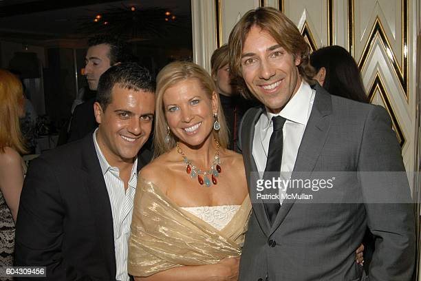 Amedeo Scognamiglio Tina Lundgren and Roberto Faraone Mennella attend BERGDORF GOODMAN and The Italian Trade Commission host a dinner with the Young...