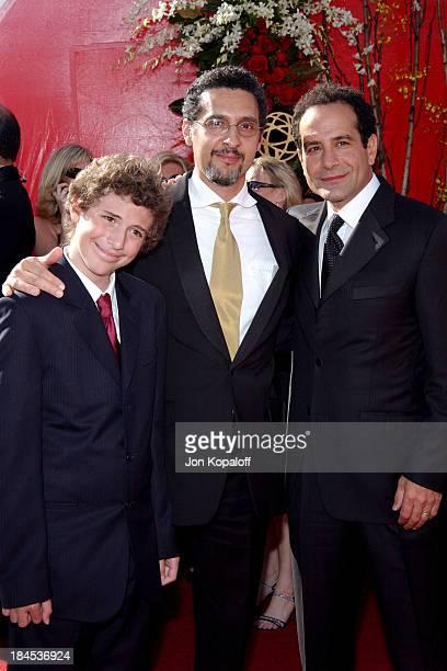 Amedeo Turturro John Turturro and Tony Shalhoub during The 56th Annual Primetime Emmy Awards Arrivals at The Shrine Auditorium in Los Angeles...