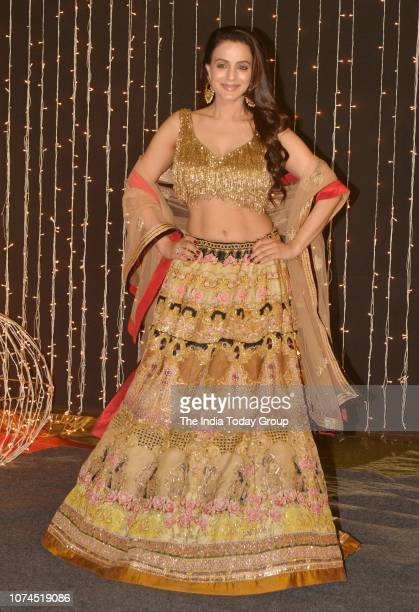 Ameesha Patel at Priyanka Chopra and Nick Jonass reception in Mumbai