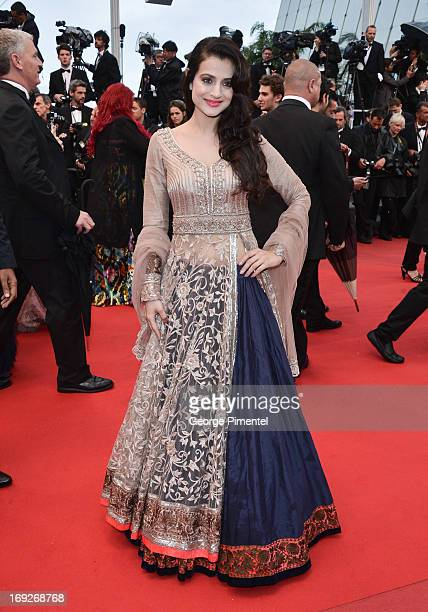 Ameesha Patel attends the Premiere of 'All Is Lost' at The 66th Annual Cannes Film Festival on May 22 2013 in Cannes France