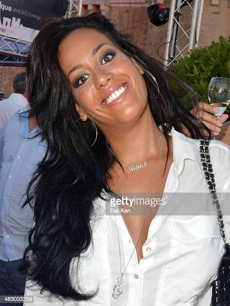 Amel Bent attends the 'Fight Night 2015' Gala Show at La Citadelle de Saint Tropez on on August 4 2015 in SaintTropez France
