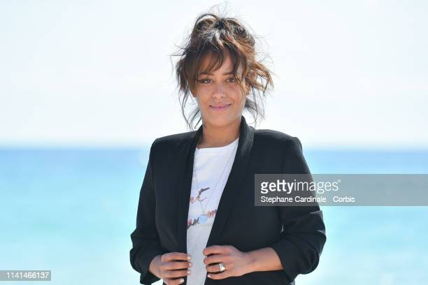 Amel Bent attends the Kings Photocall during the 2nd Canneseries International Series Festival Day Five on April 09 2019 in Cannes France