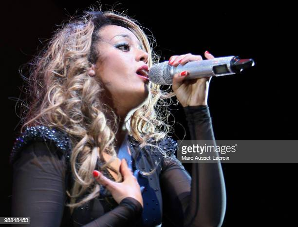 Amel Bent Performs live at L'Olympia on May 4 2010 in Paris France