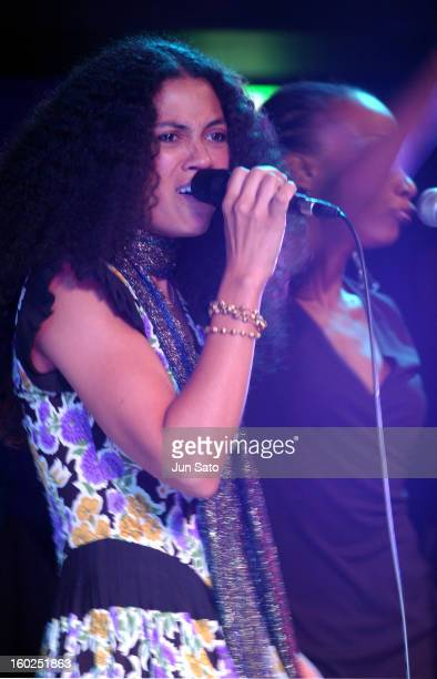 Amel Larrieux during Amel Larrieux in Concert May 11 2004 at Duo Music Exchange in Tokyo Japan
