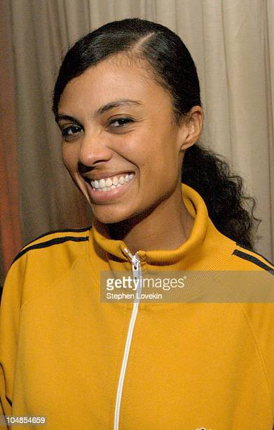 Amel Larrieux during CocaCola Celebrates Nu Classic Soul Ad Campaign at Eugene in New York City NY United States