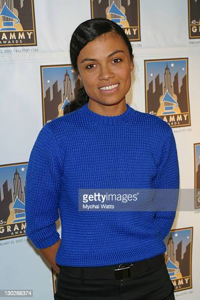 Amel Larrieux during GRAMMYFEST 2003 Songs of the City A Celebration of New York in Song Presented by the Recording Academy and the New York City...