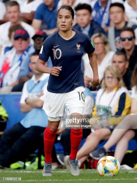 Amel Majri of France Women during the World Cup Women match between Nigeria v France at the Roazhon Park on June 17 2019 in Rennes France