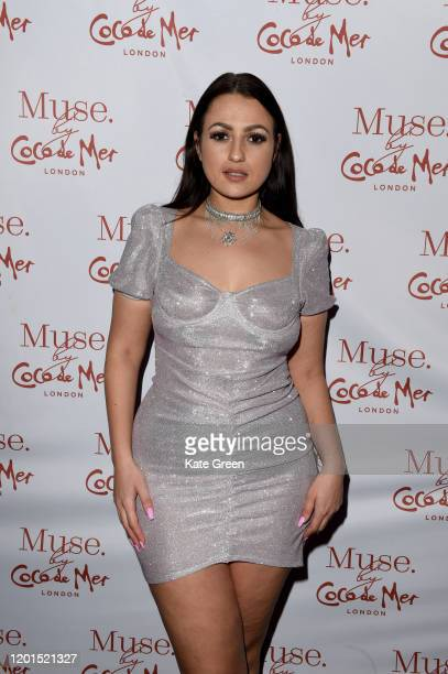 Amel Rachedi attends the Coco De Mer launch event at Sketch on January 23 2020 in London England