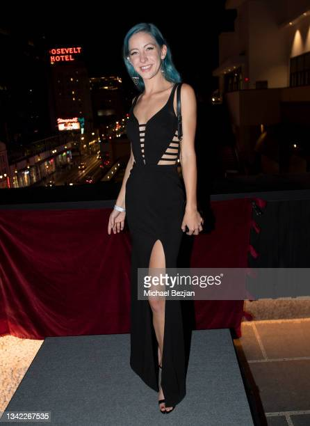 Amelia Ashton arrives at 17th Annual Oscar-Qualifying HollyShorts Film Festival Opening Night at Japan House Los Angeles on September 23, 2021 in Los...