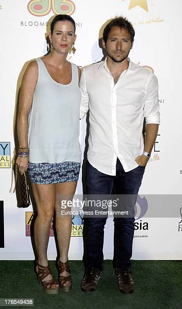 Amelia Bono and Manuel Martos Figueroa attend new summer collection 2014 'Bloomers and Bikini' during Starlite Festival on August 8 2013 in Marbella...