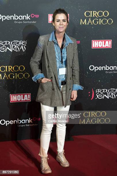 Amelia Bono attends 'Circo Magico' premiere on December 22 2017 in Madrid Spain
