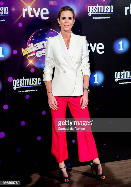 Amelia Bono attends during 'Bailando Con Las Estrellas' TVE Photocall in Madrid on May 9 2018 in Madrid Spain