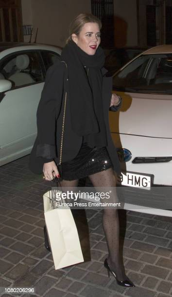 Amelia Bono attends Eugenia Martinez de Irujo's 50th birthday party on November 30 2018 in Madrid Spain