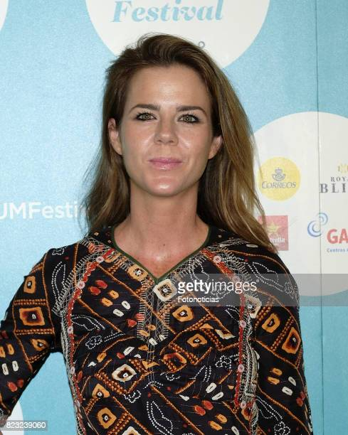 Amelia Bono attends the David Bisbal Universal Music Festival concert at The Royal Theater on July 26 2017 in Madrid Spain