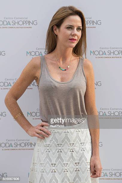 Amelia Bono attends the inauguration of the summer terrace of the mall Fashion Shopping Madrid on 1st July 2015
