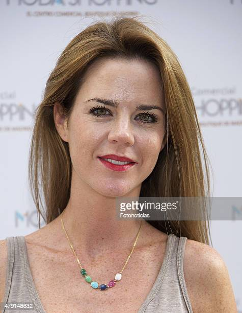 Amelia Bono attends the opening of Moda Shopping Terraces on July 1 2015 in Madrid Spain