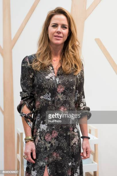 Amelia Bono attends 'The Petite Fashion Week' at the Cibeles Palace on October 6 2017 in Madrid Spain