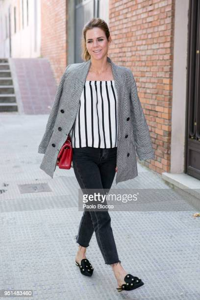 Amelia Bono attends the Petite Fashion Week fashion show on April 26 2018 in Madrid Spain