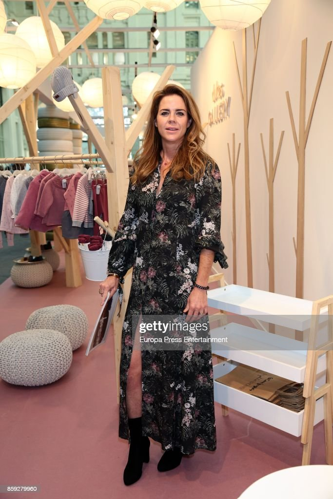 Amelia Bono attends 'The Petite Fashion Week' Photocall at Cibeles Palace on October 6, 2017 in Madrid, Spain.