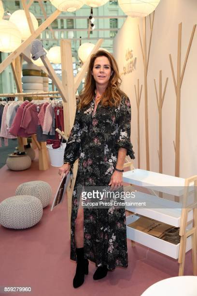 Amelia Bono attends 'The Petite Fashion Week' Photocall at Cibeles Palace on October 6 2017 in Madrid Spain