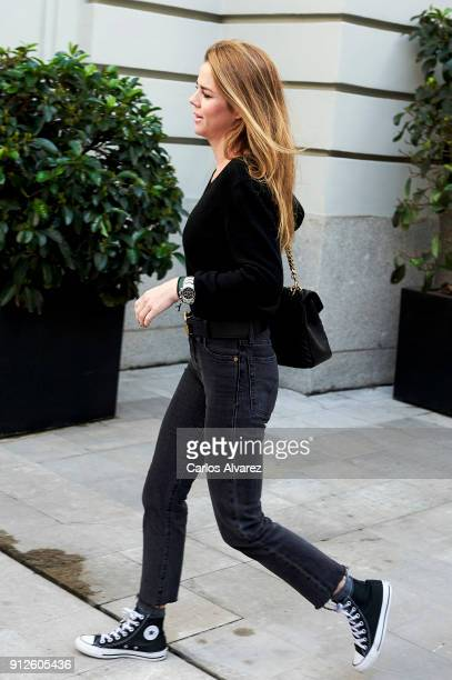 Amelia Bono attends 'The Petite Special Day' at the Santo Mauro Hotel on January 31 2018 in Madrid Spain