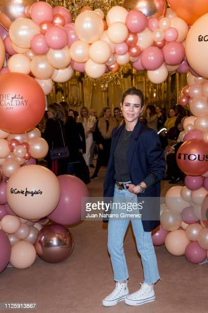 Amelia Bono attends 'The Pettit Special Day' photocall at Fernan Nuñez Palace on January 29 2019 in Madrid Spain
