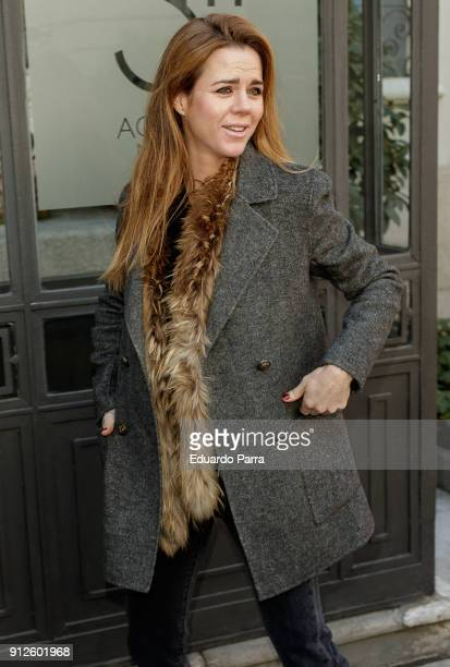 Amelia Bono attends the 'The Petite Special Day' photocall at Santo Mauro hotel on January 31 2018 in Madrid Spain