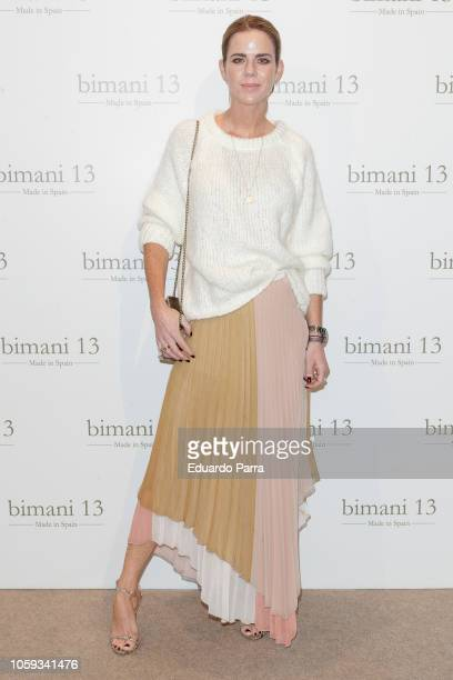 Amelia Bono attends the 'Trece by Bimani 13' catwalk at Real Fabrica de tapices on October 25 2018 in Madrid Spain